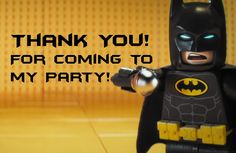 free printable lego batman thank you card