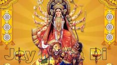 Discover recipes, home ideas, style inspiration and other ideas to try. Maa Durga Image, Durga Maa, Wallpaper Photo Hd, Wallpaper Pictures, Images Gif, Pictures Images, Happy Navratri Images, Durga Images, Image Hd