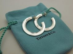 68aadf198 Tiffany & Co. Earrings - Up to 90% off at Tradesy. Designer ResaleDesigner  ClothingSterling Silver ...