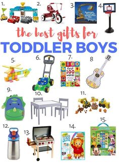 Searching for the best toys for 3 year old boys? Here's tried and true products for all price ranges! Everything from books to crafts to blocks! Great gift ideas for toddlers for christmas, birthday, and any other holiday! Christmas Gifts For Boys, Gifts For Kids, Christmas Birthday, Toddler Christmas, Christmas Present 3 Year Old Boy, Holiday Gifts, Toddler Boy Toys, Toys For Boys, Baby Toys