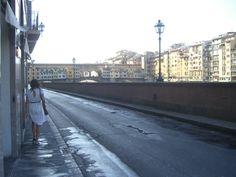 lone walker in florence