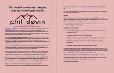 Phil Devin Consultants - Att göra varje transaktion går smidigt