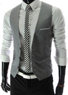 NEW! Men's Trendy Suit Vest