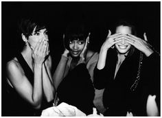 90s – THE TRINITY  The iconic faces of a generation; along with friends Linda Evangelista and Christy Turlington, Naomi owned the 90s runways. More than just a group of besties, the trio banded together with Evangelista and Turlington refusing to do shows unless Naomi walked alongside them.