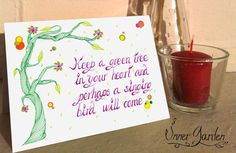 Motivational cards. Quote prints. Eco Friendly. by RsInnerGarden