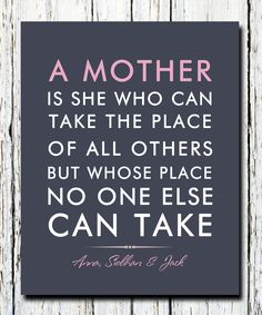 Mother Quote Ideas no one can take a mothers place quote Mother Quote. Here is Mother Quote Ideas for you. Mother Quote life doesnt come with a manual it comes with a mother. Mother Quote how i met your moth. Mothers Day Verses, Mothers Love, Happy Mothers Day, Mothers Day Decor, The Words, Mom Birthday Gift, Birthday Quotes, Happy Birthday, Birthday Greetings For Mom