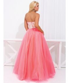 Tony Bowl Prom Dress, Two-piece gown with jeweled top with sweetheart neckline, style 114708