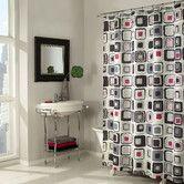 Found it at Wayfair - Blocks Polyester Shower Curtain
