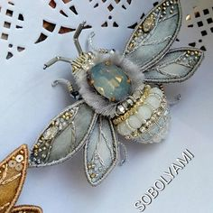 Silk ribbon embroidery kits for beginners silkribbonembroideryAari Embroidery Machine Price In Pakistan Alliance Embroidery Machine PriceDo It Yourself Antique Brooch Insect Jewelry, Diy Jewelry, Beaded Jewelry, Unique Jewelry, Jewelery, Handmade Jewelry, Jewelry Making, Jewelry Gifts, Bead Embroidery Jewelry
