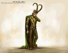 The REAL Loki had an 8 legged horse Sleipnir, the Midgard Serpent, Jormungandr, the giant wolf, and Hel, the goddess of...well, Hell, as children. He also has a few god children with his wife and some troll children he birthed from his own body (click to watch the gif!)