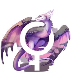 This week's pride dragons (or pride wyverns, in this case?) are for demiboy and demigirl pride!The other finished pieces of this series-in-progress can be found here, and the to-do list here.These designs are also available on TeePublic and Redbubble.