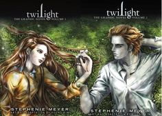 not really into graphic novels but these are kind of cool (love how the covers create the meadow scene)