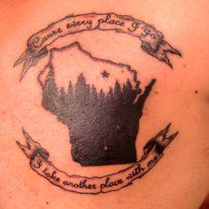 Bon Iver inspired tattoo. I <3 WI