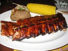 Here are eleven tips to make the best barbecue ribs you will ever eat. These ribs are the best you will ever taste. Baked Pork Ribs, Bbq Pork Ribs, Homemade Bbq Sauce Recipe, Barbecue Sauce Recipes, Bbq Sauces, Recipe For Pork Baby Back Ribs, Carolina Style Bbq Sauce, Pork Rib Recipes, Carnivore