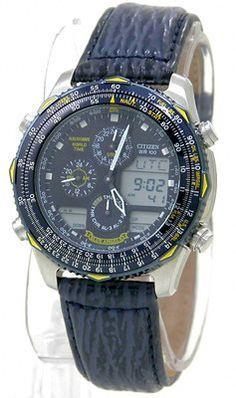 : Citizen NaviHawk Blue Angels Watch # JN0041-12L (Men Watch), Citizen Men USD $181.99