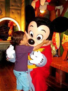 Huge kiss