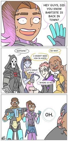 Funny drawings watches new ideas Overwatch Funny Comic, Overwatch Memes, Overwatch Fan Art, Funny Mom Memes, Hilarious, Funny Quotes, Overwatch Video Game, Overwatch Wallpapers, Funny Animals With Captions