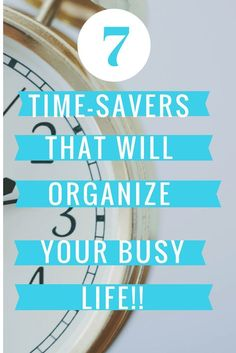 7 time-saving strategies to help you organize and conquer your life! These tips are tried and true and will save you time and money! College Organization, Finance Organization, Organizing Life, Organization Ideas, Time Saving, Money Saving Tips, How To Become Rich, Organize Your Life, Time Management Tips