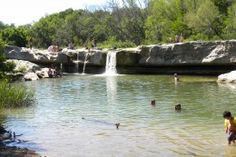Mckinney Falls State Park Lower Falls Great swimming Austin Texas