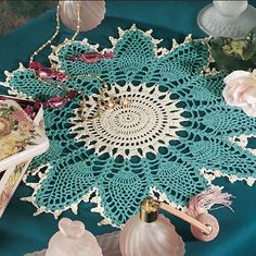 Ravelry: Caprice Doily pattern by Karen Robison