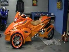 custom can am spyder build. prime time part 4 - YouTube