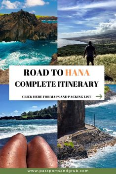 Road To Hana Stops: The ultimate guide for driving the Road to Hana in Maui, Hawaii's famous road trip. Where to stop, where to eat, how to navigate and much more. Best hikes, views, food, waterfalls and everything in between. First hand recommendations. Aloha! Road to Hana Guide | Road to Hana Stops | Maui Hawaii | Things to do in Maui | What to do in Maui | Hana Waterfalls | Maui Hawaii Vacation #RoadtoHana #RoadtoHanaStops #MauiHawaii
