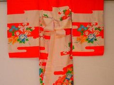 Child's kimono robe from togei
