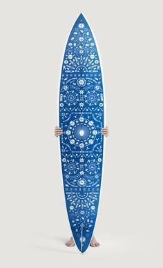Deska surfingowa - artystyczny dodatek do wnętrza. Surfboard - artistic addition to the interior.   Cleo-inspire