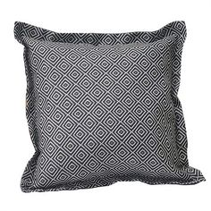 Outdoor Creations Outdoor Throw Cushion Charcoal Square