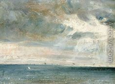 John Constable, Study of Sea and Sky ( A Storm off the South Coast)