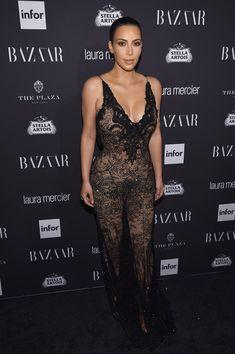 Kim Kardashian West attends Harper's Bazaar's celebration of 'ICONS by Carine Roitfeld.'