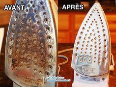 Comment nettoyer et détartrer la semelle encrassée de votre fer à repasser ?