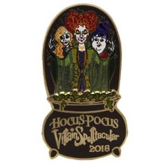 Disney Pin Mickey's Not So Scary Halloween Party 2016 Hocus Pocus Pin #Disney #PinsCollectibles