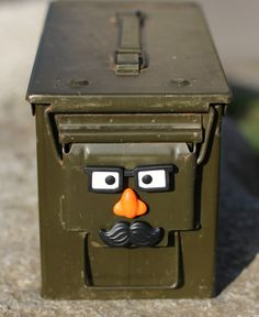The ammo can #geocaches of #Movember