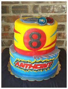 J S Cakes Beyblades Birthday Cake Kids Birthday Cakes