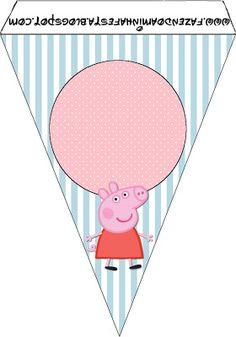 Peppa Pig: tarjetería para imprimir gratis.