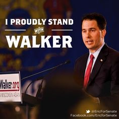 I Proudly Stand With Walker