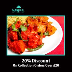 Mayhek Restaurant offers delicious Indian Food in Barnet, Enfield Browse takeaway menu and place your order with ChefOnline. You can pay via cash. Order Takeaway, Restaurant Order, Indian Food Recipes, Ethnic Recipes, Barnet, Food Items, Tandoori Chicken, A Table, Opportunity