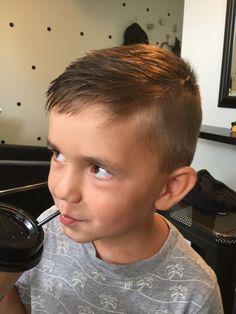 Little boys haircut More