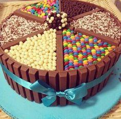 candy cake.. yum!