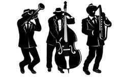 silhouet musician - Google zoeken