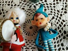Check out this item in my Etsy shop https://www.etsy.com/listing/494803231/kitsch-retro-christmas-ornament-set-of-2
