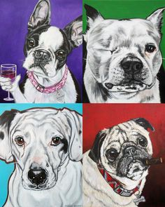 I am a Pittsburgh pet portrait artist who donates 10% to the animal rescue, shelter, cause of my client's choice. Check out my work @ http://www.ashleyreid.net (thanks for the invite :)