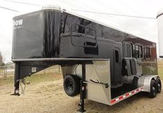 I want a black horse trailer like no other!! NEW Shadow Horse Trailer for Sale - Horse Trailers Galore