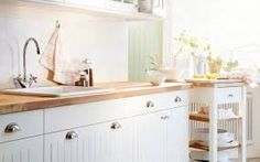 b&q cream shaker kitchen - Google Search