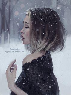 Kseniya Rain (Study) by AyyaSap on DeviantArt