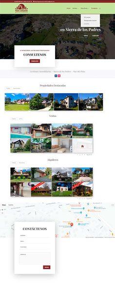 Sitio realizado en Wordpress Marketing En Internet, Desktop Screenshot, Wordpress, Visual Identity, Mar Del Plata, Web Design