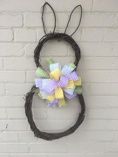 Easter Gift, Easter Crafts, Easter Bunny, Easter Decor, Easter Eggs, Handmade Home Decor, Etsy Handmade, Handmade Gifts, Easter Wreaths