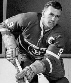 MAURICE RICHARD:    During his 18-year tenure in the league, Richard became the first player in NHL history to record 50 goals in a season (1944-1945) and the first to reach 500 career goals.  -  100 greatest players in NHL history  -  October 11, 2016