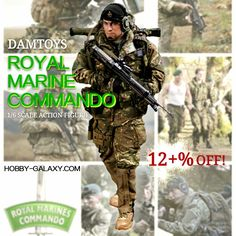 http://www.hobby-galaxy.com/dam-toys-royal-marines-commando-1-6-scale-action-figure-78023/ #royalmarines #royalmarine #britishmilitary #commando #commandos #damtoys #onesixthscale #soldier #soldiers #toysoldier